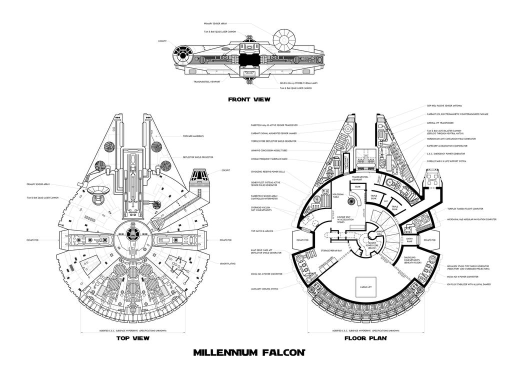 Millennium Falcon By Becca On Deviantart