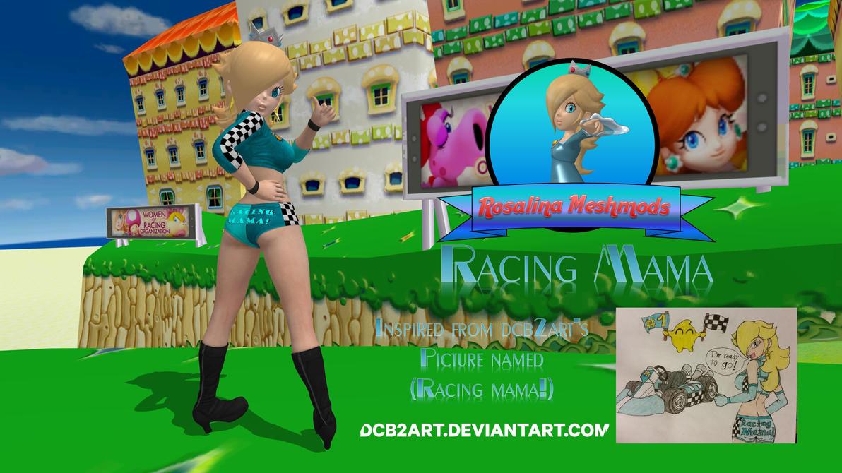Rosalina Racing Mama By FatalitySonic2 On DeviantArt