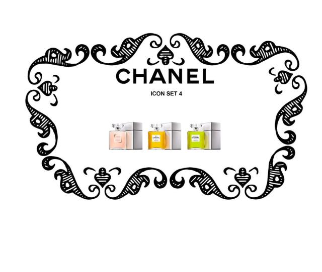 Chanel Icon Set 4cc By Trentsxwife