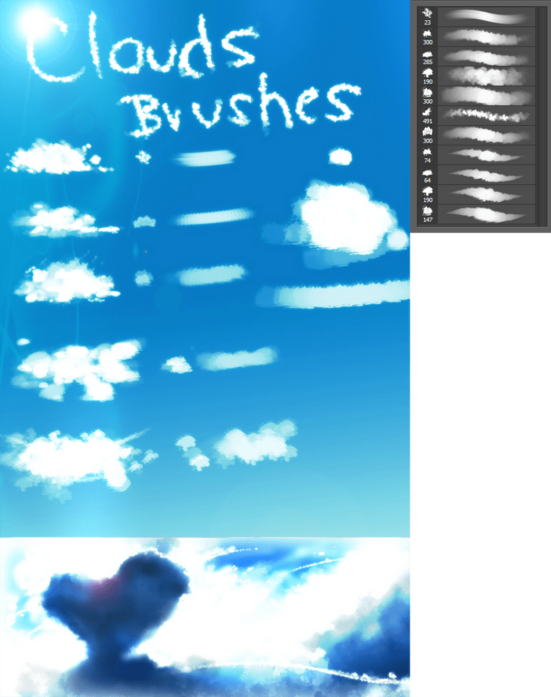 Clouds BRUSHES By Ryky On DeviantArt