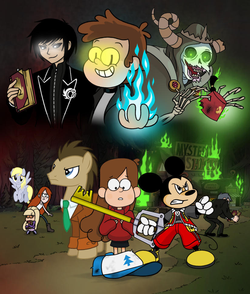 The First Gravity Falls Crisis Ch 1 The Deal By
