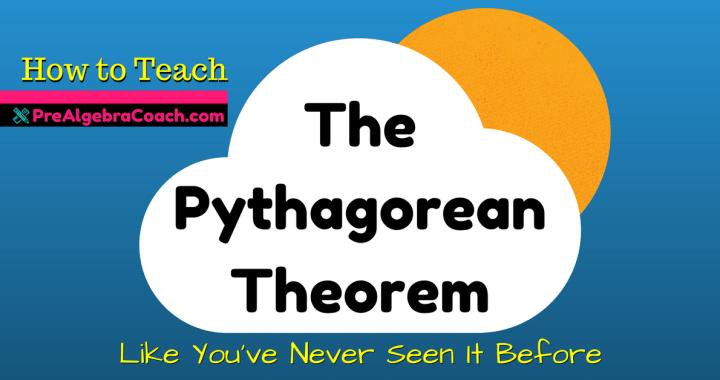 The Pythagorean Theorem - Pre-Algebra