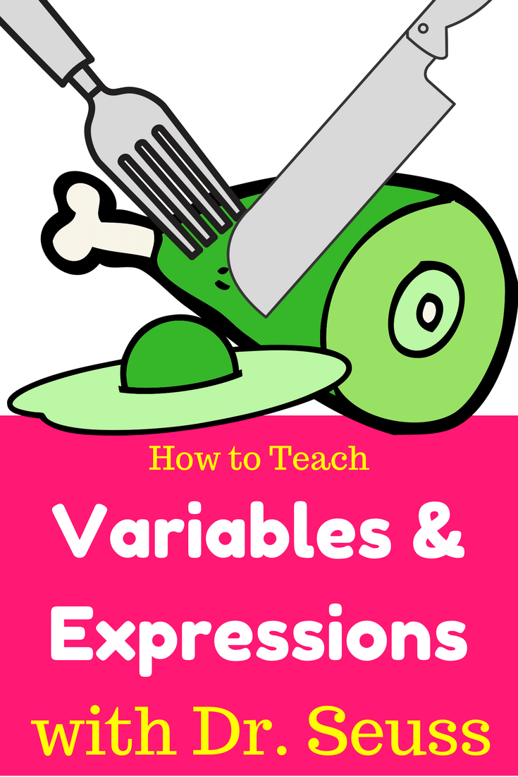 Variables and Expressions Worksheet