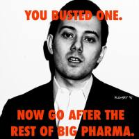 What is the difference between Marlin Shkreli and Bruce Rauner? One is in jail.
