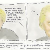 Hell is Madeleine Albright.