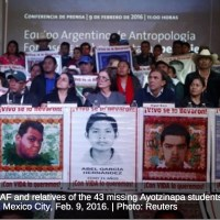 On the eve of the Pope's visit to Mexico, Ayotzinapa is back in the news.