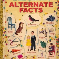 The Little Golden Book of Alternate Facts.