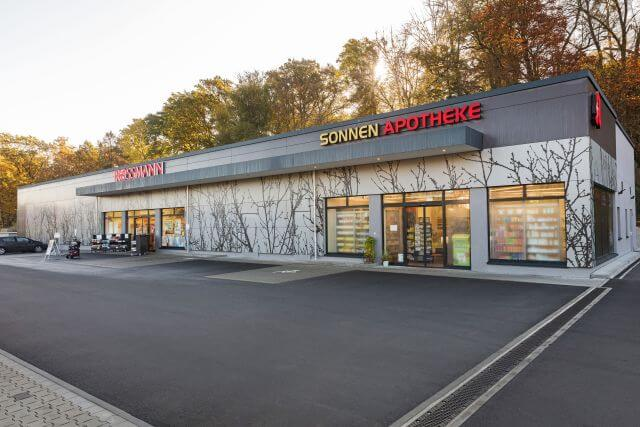 Abbildung des Objektes Discountmarkt in Roßtal der PREBAG AG