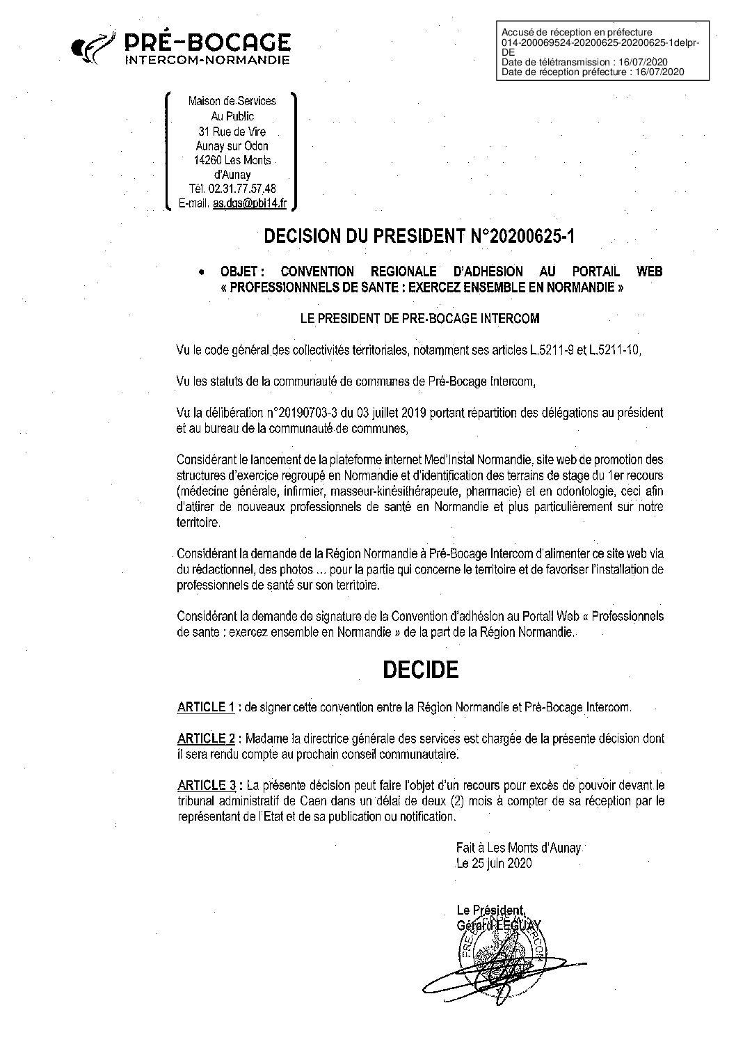Décision déléguée du 25 juin 2020