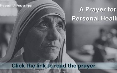 Personal Healing Prayer