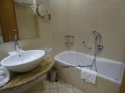 salle de bain hotel crowne plaza padova