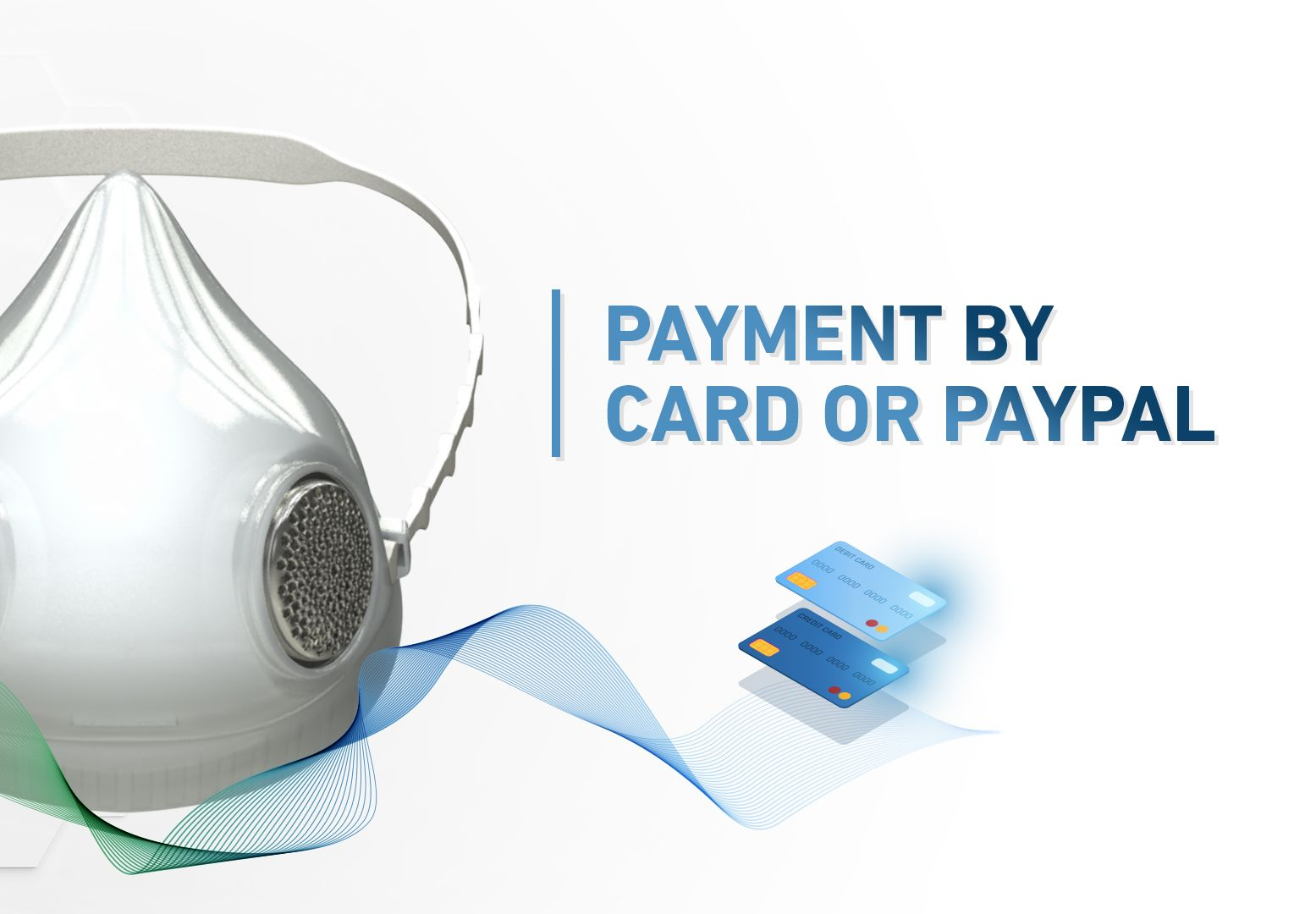 PRECIMASK - Payment by card or Paypal