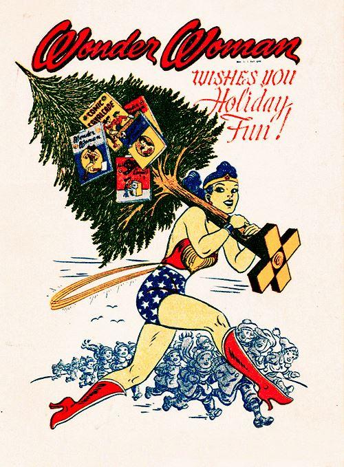 Classic Wonder Woman Holiday Special Precinct1313