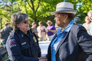 Rep. Adams and Davidson police officer