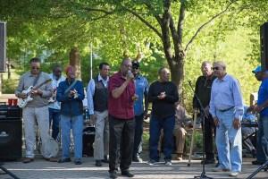 Local gospel choir