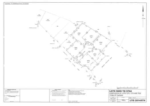HPJV subdivision layout