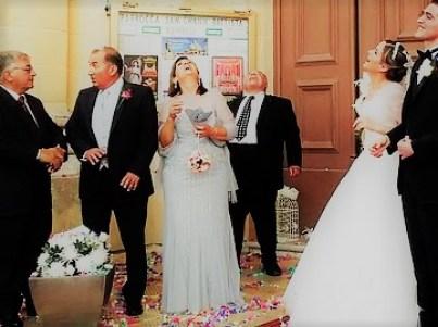 結婚式に招待された親族
