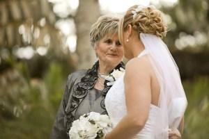花嫁とおばあちゃん