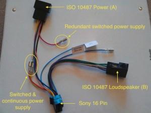 Installing a Sony CDXDAB700U car radio in a Vauxhall Corsa D