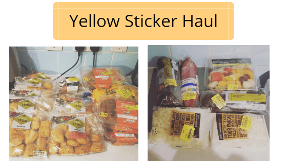 Yellowsticker Haul