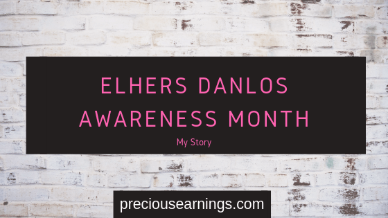 Elhers Danlos Awareness UK  – My story