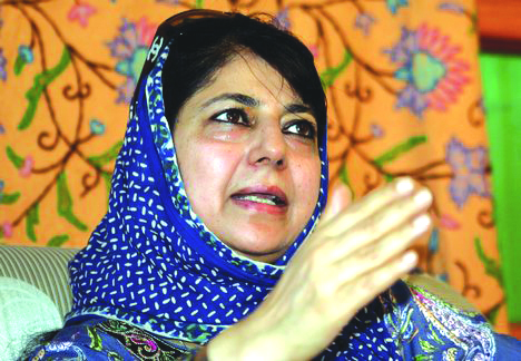 Accept Pak's peace offer, initiate dialogue: Mehbooba to GoI