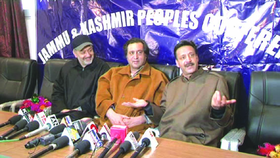 Former PDP MLA Abbas Wani joins Peoples Conference