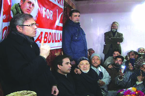 Non-NC governments in JK weakened State's Special Status: Omar