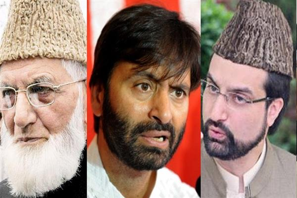 Malik arrested, Mirwaiz, Geelani under house arrest