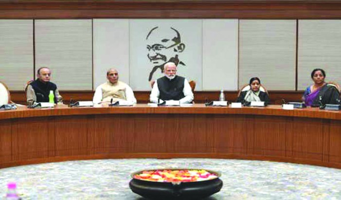 PM chairs CCS meeting, reviews security situation in Valley