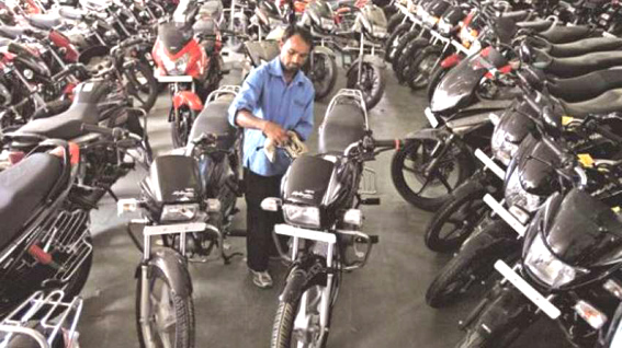 Two-wheeler exports from India rise 19.5 pc in April-January