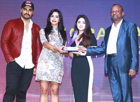 Zaira Wasim wins 'YONO SBI 20 Under Twenty' awards