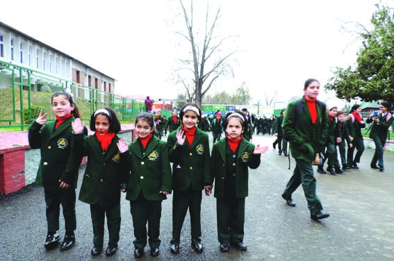 Govt announces winter vacations for schools in Kashmir