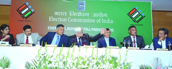 Conducting polls in JK challenging, says ECI