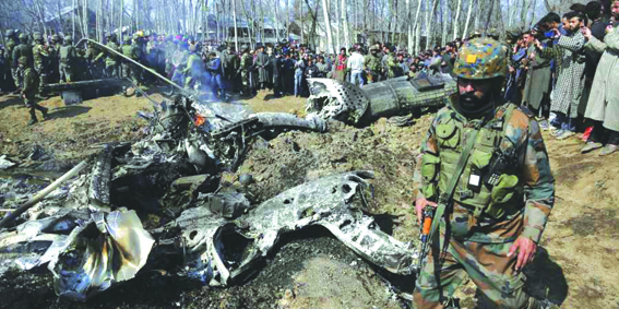 Indian missile fired before Budgam chopper crash: Report