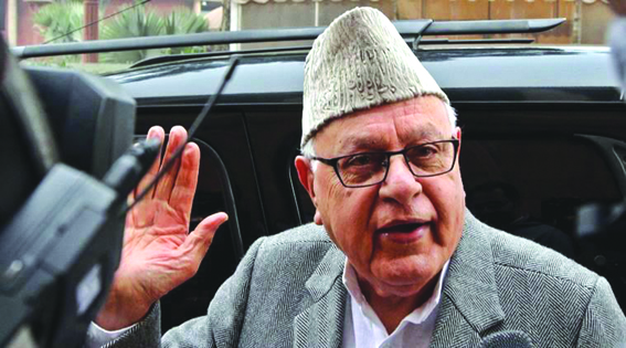Omar will be CM candidate, not me: Dr Farooq