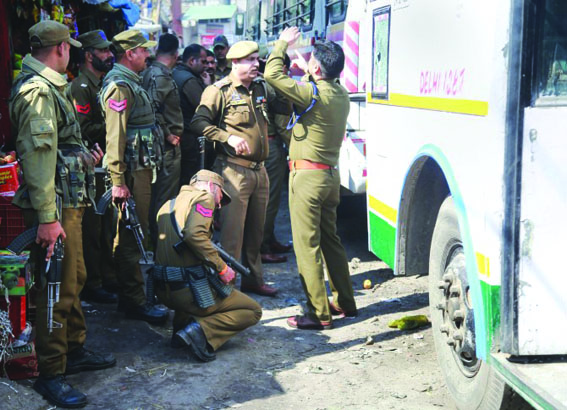 One dead, 32 injured in grenade attack at bus stand in Jammu