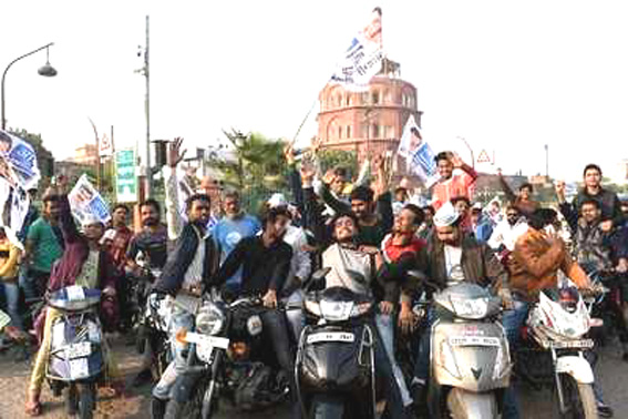 Political parties in UP reach out to young voters