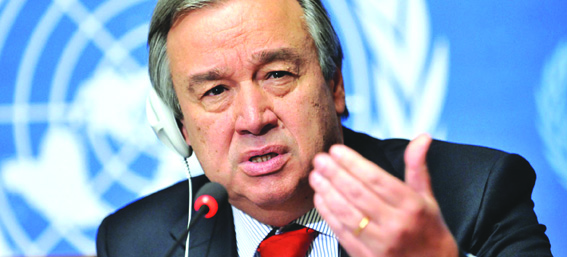 'UN chief continually monitoring situation between India, Pakistan'