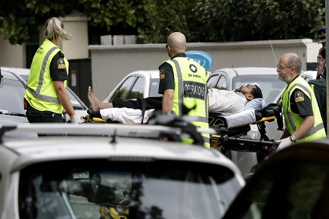2 mosques attacked in New Zealand, 49 dead