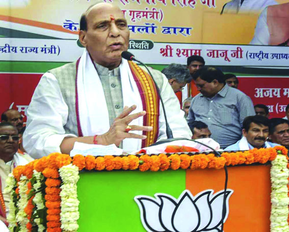 No option than to abolish Article 370, 35A if someone talks about separate PM for JK: Rajnath