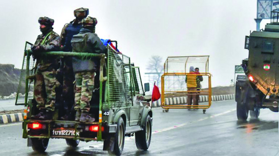 Troop movement: Outrage in Kashmir over highway closure