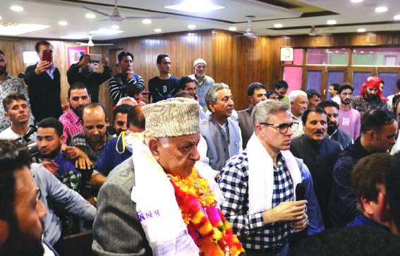 Hopefully new govt at Centre will do justice with Jammu and Kashmir, says Dr Farooq