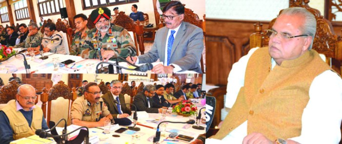 Amarnath Yatra: Governor reviews security arrangements at high level meeting