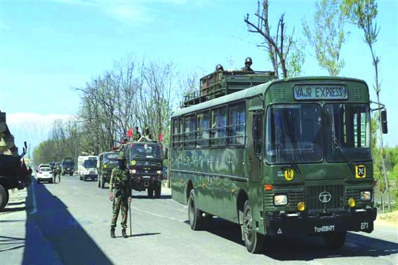 Highway curbs on civilian traffic in Kashmir only on Sundays