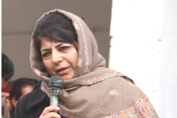 Mehbooba welcomes Pak PM's call to Modi