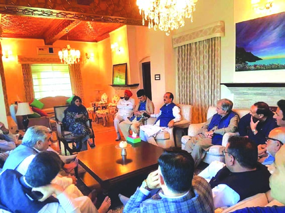 PDP calls for joint political initiative to safeguard JK's interests