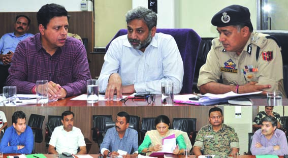 Principal Secretary Home reviews arrangements