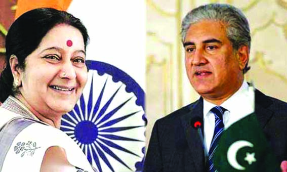 Qureshi, Swaraj likely to interact during SCO meeting in Kyrgyzstan