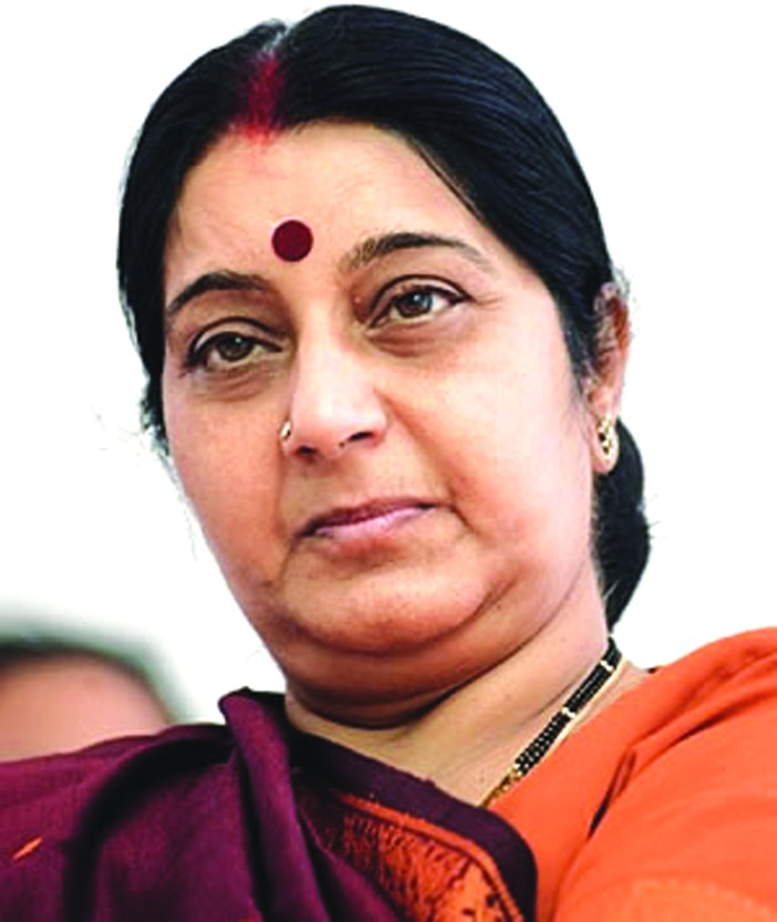 Sushma Swaraj to attend SCO foreign ministers meet in Bishkek